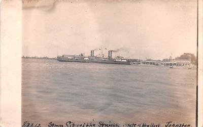 mil051294 - Military Battleship Postcard, Old Vintage Antique Military Ship Post Card
