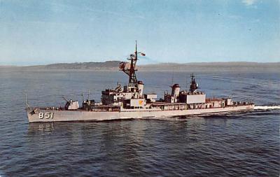 mil051300 - Military Battleship Postcard, Old Vintage Antique Military Ship Post Card