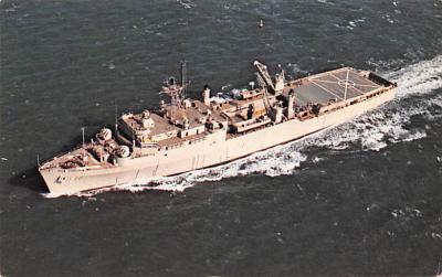 mil051379 - Military Battleship Postcard, Old Vintage Antique Military Ship Post Card