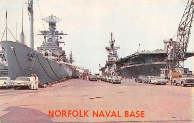 mil051391 - Military Battleship Postcard, Old Vintage Antique Military Ship Post Card