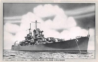mil051450 - Military Battleship Postcard, Old Vintage Antique Military Ship Post Card