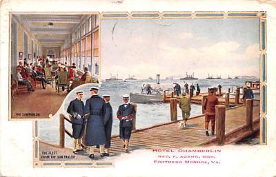 mil051456 - Military Battleship Postcard, Old Vintage Antique Military Ship Post Card