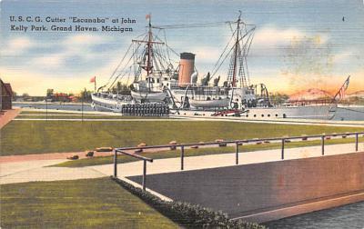 mil051486 - Military Battleship Postcard, Old Vintage Antique Military Ship Post Card