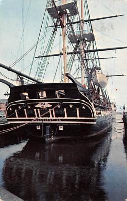 mil051510 - Military Battleship Postcard, Old Vintage Antique Military Ship Post Card