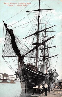 mil051529 - Military Battleship Postcard, Old Vintage Antique Military Ship Post Card