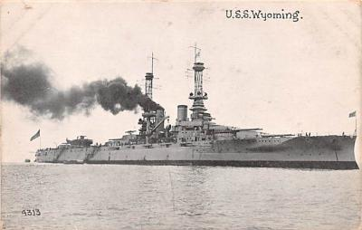 mil051544 - Military Battleship Postcard, Old Vintage Antique Military Ship Post Card