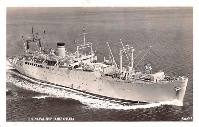 mil051547 - Military Battleship Postcard, Old Vintage Antique Military Ship Post Card