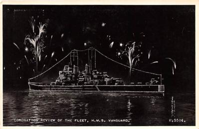 mil051553 - Military Battleship Postcard, Old Vintage Antique Military Ship Post Card