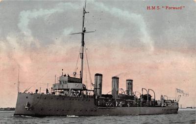 mil051554 - Military Battleship Postcard, Old Vintage Antique Military Ship Post Card