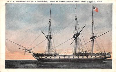 mil051563 - Military Battleship Postcard, Old Vintage Antique Military Ship Post Card