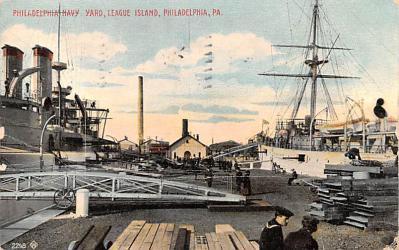 mil051586 - Military Battleship Postcard, Old Vintage Antique Military Ship Post Card