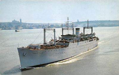 mil051590 - Military Battleship Postcard, Old Vintage Antique Military Ship Post Card