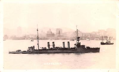 mil051606 - Military Battleship Postcard, Old Vintage Antique Military Ship Post Card