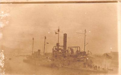 mil051629 - Military Battleship Postcard, Old Vintage Antique Military Ship Post Card
