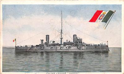 mil051630 - Military Battleship Postcard, Old Vintage Antique Military Ship Post Card