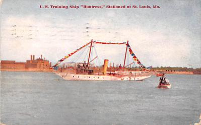 mil051644 - Military Battleship Postcard, Old Vintage Antique Military Ship Post Card