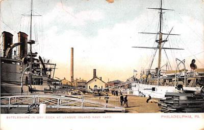 mil051655 - Military Battleship Postcard, Old Vintage Antique Military Ship Post Card