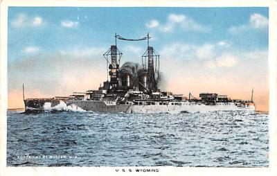 mil051660 - Military Battleship Postcard, Old Vintage Antique Military Ship Post Card