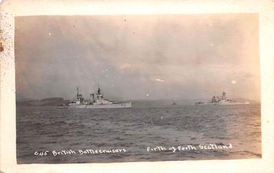 mil051675 - Military Battleship Postcard, Old Vintage Antique Military Ship Post Card