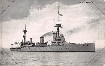 mil051685 - Military Battleship Postcard, Old Vintage Antique Military Ship Post Card
