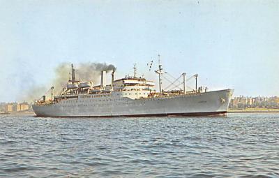 mil051695 - Military Battleship Postcard, Old Vintage Antique Military Ship Post Card