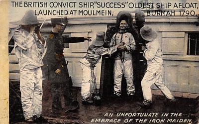 mil051700 - Military Battleship Postcard, Old Vintage Antique Military Ship Post Card