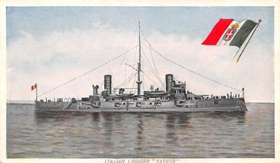 mil051717 - Military Battleship Postcard, Old Vintage Antique Military Ship Post Card