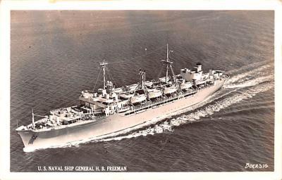 mil051727 - Military Battleship Postcard, Old Vintage Antique Military Ship Post Card