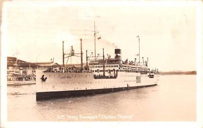 mil051750 - Military Battleship Postcard, Old Vintage Antique Military Ship Post Card