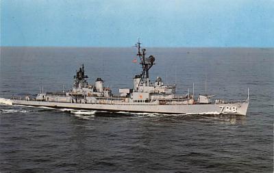 mil051752 - Military Battleship Postcard, Old Vintage Antique Military Ship Post Card