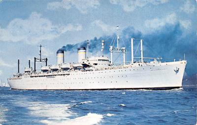 mil051779 - Military Battleship Postcard, Old Vintage Antique Military Ship Post Card