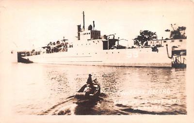 mil051810 - Military Battleship Postcard, Old Vintage Antique Military Ship Post Card