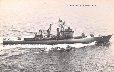 mil051812 - Military Battleship Postcard, Old Vintage Antique Military Ship Post Card