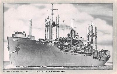 mil051814 - Military Battleship Postcard, Old Vintage Antique Military Ship Post Card
