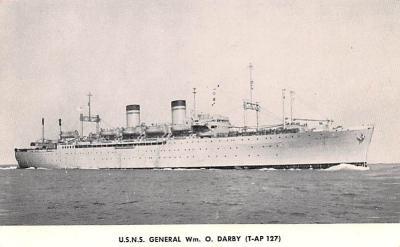 mil051815 - Military Battleship Postcard, Old Vintage Antique Military Ship Post Card