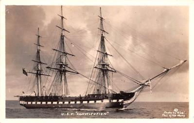 mil051816 - Military Battleship Postcard, Old Vintage Antique Military Ship Post Card