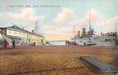 mil051836 - Military Battleship Postcard, Old Vintage Antique Military Ship Post Card