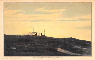 mil051839 - Military Battleship Postcard, Old Vintage Antique Military Ship Post Card