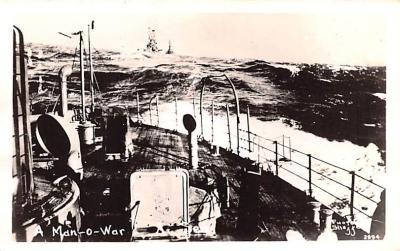 mil051893 - Military Battleship Postcard, Old Vintage Antique Military Ship Post Card