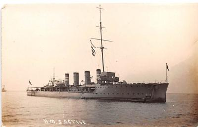 mil051939 - Military Battleship Postcard, Old Vintage Antique Military Ship Post Card