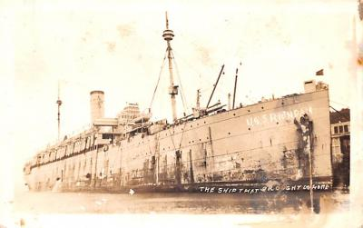 mil052031 - Military Battleship Postcard, Old Vintage Antique Military Ship Post Card