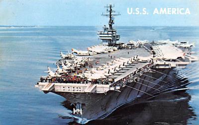 mil052048 - Military Battleship Postcard, Old Vintage Antique Military Ship Post Card