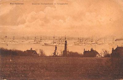 mil052054 - Military Battleship Postcard, Old Vintage Antique Military Ship Post Card