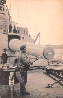 mil052065 - Military Battleship Postcard, Old Vintage Antique Military Ship Post Card