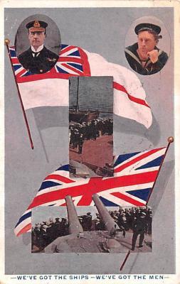 mil052066 - Military Battleship Postcard, Old Vintage Antique Military Ship Post Card