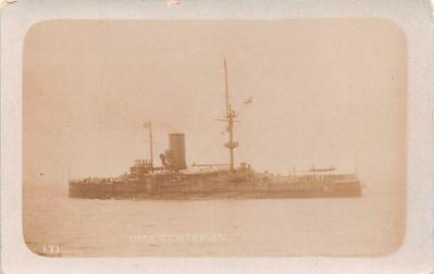 mil052071 - Military Battleship Postcard, Old Vintage Antique Military Ship Post Card