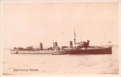 mil052074 - Military Battleship Postcard, Old Vintage Antique Military Ship Post Card