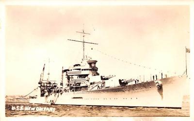 mil052086 - Military Battleship Postcard, Old Vintage Antique Military Ship Post Card