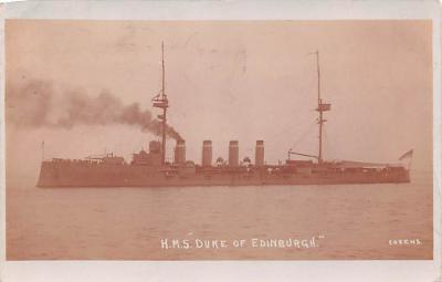 mil052094 - Military Battleship Postcard, Old Vintage Antique Military Ship Post Card