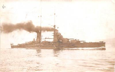 mil052126 - Military Battleship Postcard, Old Vintage Antique Military Ship Post Card